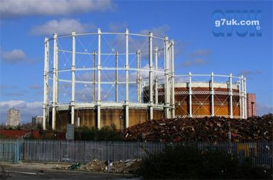 Gas works, Manchester