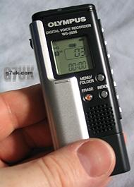 Olympus WS-200S Digital Voice Recorder