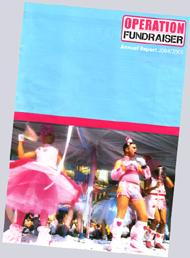 Operation Fundraiser Annual Report 2004-2005 - no mention of a £200,000 contribution handed over to Manchester Pride towards running costs?