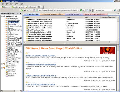 RSS Bandit - RSS feed reader for Windows