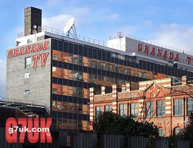 Granada TV studios, seen from Lower Byrom Street