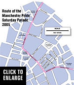 250,000 at the Saturday Parade says Manchester Pride. A 500% exaggeration?