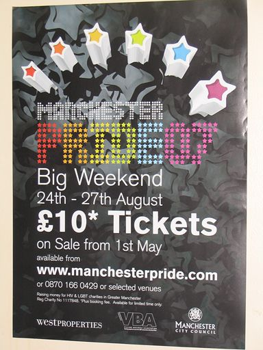 Manchester Pride poster 2007
