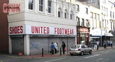 A shop to avoid: United Footwear, Oldham Street, Manchester