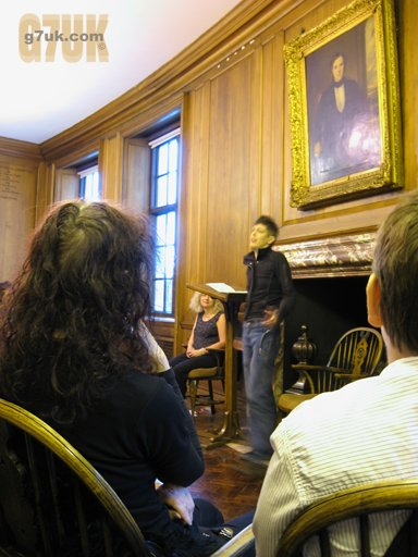 Poetry at Manchester Central Library for Lesbian, Gay, Bisexual and Transgender History Month