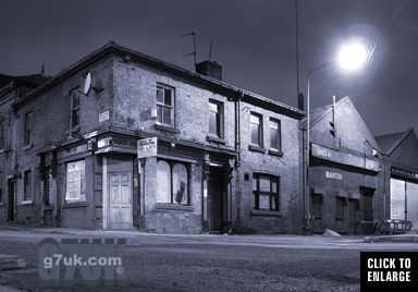 old pub on the corner of Radium Street, Ancoats, Manchester