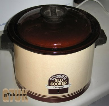 Still going strong after almost 25 years: Tower Compact slow cooker from Woolworths