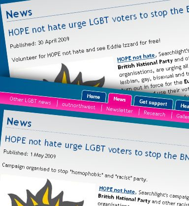 Changes to the LGF's BNP article