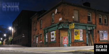 The former Cross Keys pub at 95-97 Jersey Street in Ancoats Manchester