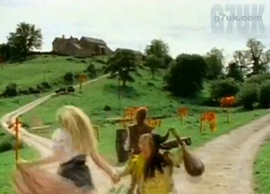 Locations from the Safety Dance video: the farm