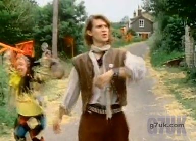 Locations from the Safety Dance video: the country lane