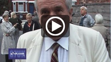 Exclusive interview with Martin Bell and his full speech at the 'Hazel Must Go' meeting.