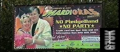 Mardi Gras 1999 - no pledgeband no party
