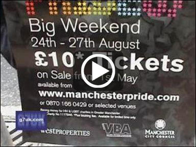 Watch the video: Manchester pride poster